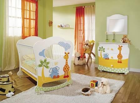Como amueblar y decorar habitacion de bebe aprender for Habitacion para bebe