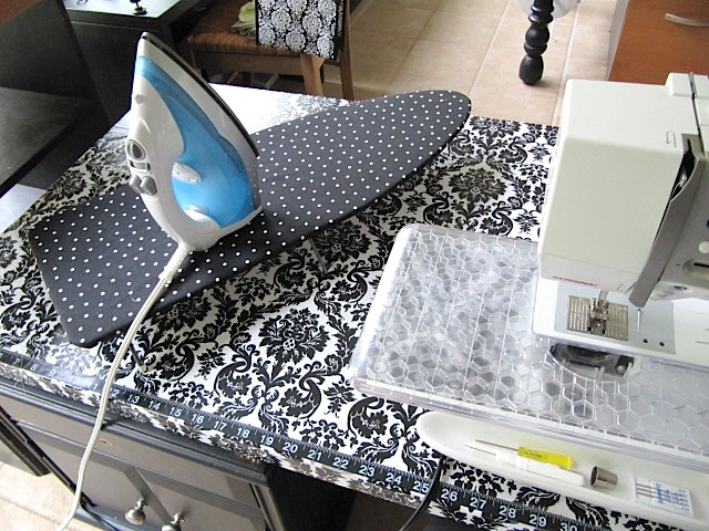 Ironing Table Designs : Sew Many Ways...: Space Saving Ironing Board Ideas and More...