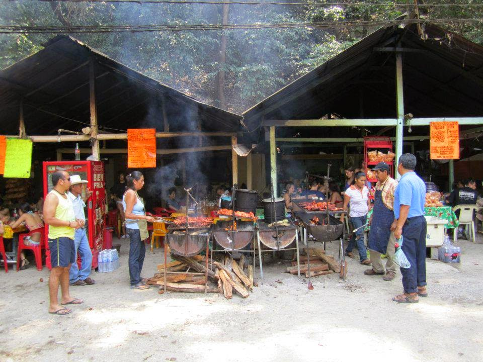 Barbecue Chicken, Xilitla, San Luis Potosi, Mexico