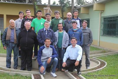 Celebração no Recanto Bom Pastor - 09/08/2013