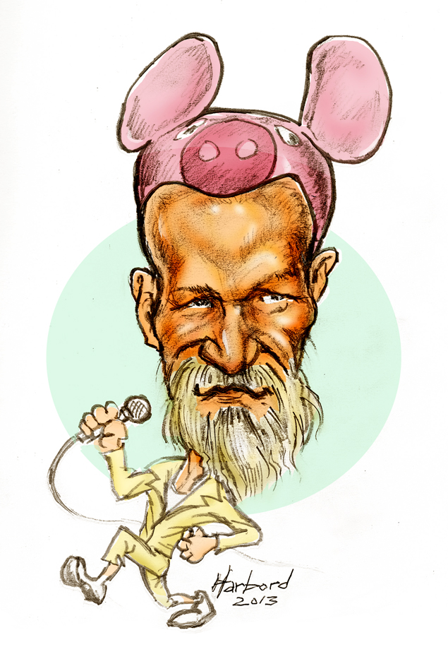 CHI - Pig of SNFU by Dan Harbor