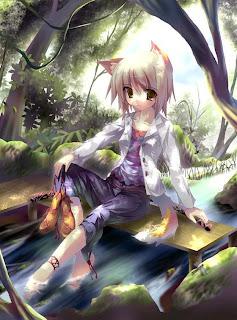 Ảnh hoạt hình 3D girl xinh dễ thương