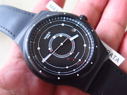 SWATCH SISTEM 51 BLACK PLANET DIAL - AUTOMATIC