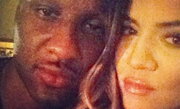 Lamar Odom apareceu sem avisar na academia de Khloe Kardashian