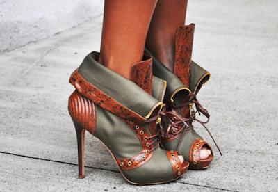 alexander mcqueen zipper boots
