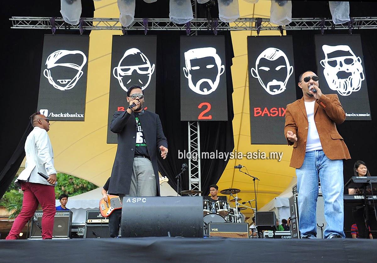 Back2Basixx 2015 My Music Festival 2015 Malaysia