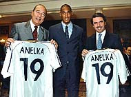 Nicolas Anelka aznar chirac real madrid