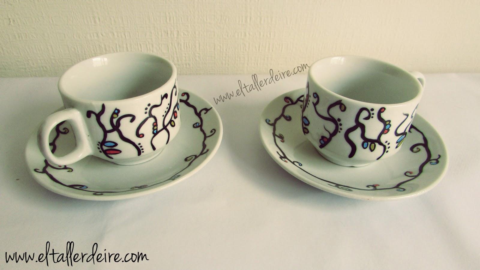 Pintura Para Cer Mica Y Porcelana Juegos De Caf