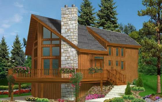 Planos de casas plano de casa de un piso for Modelo de casa segundo piso