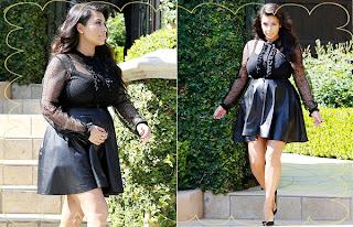 kim kardashian pregnant mon maternité