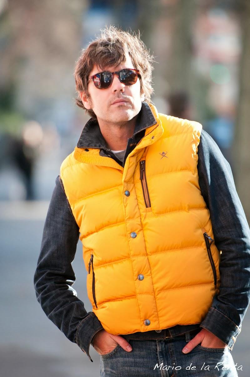 Yellow waistcoat Hackett