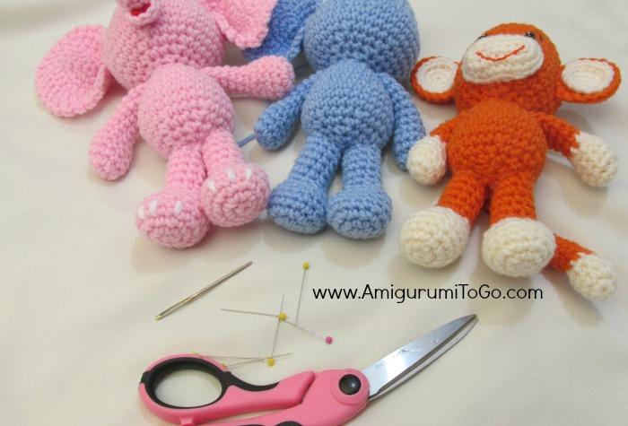 Amigurumi Legs Body : Sewing Amigurumi Legs ~ Amigurumi To Go