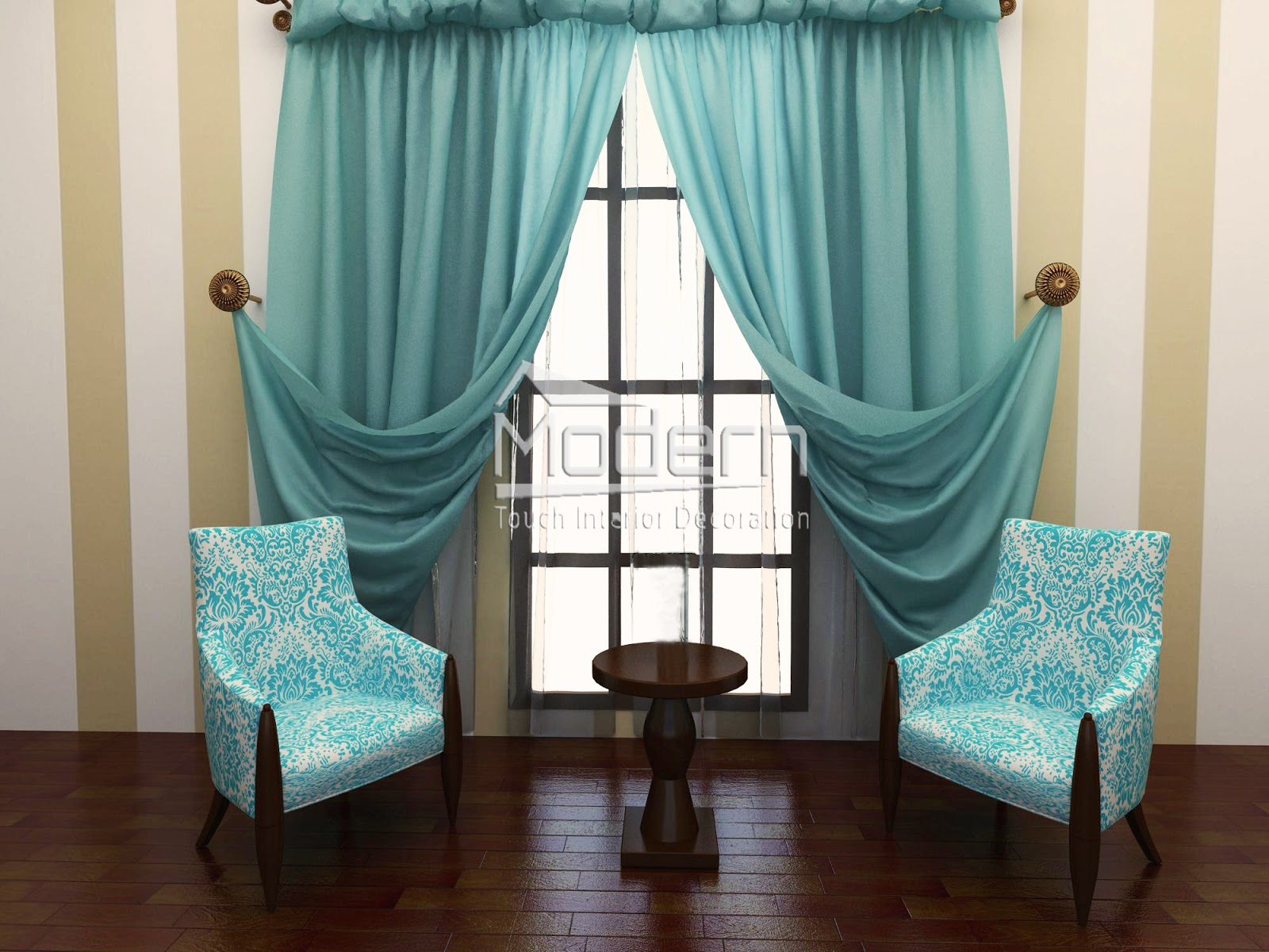 Turquoise And Gold Curtains How Do I Hang Curtains
