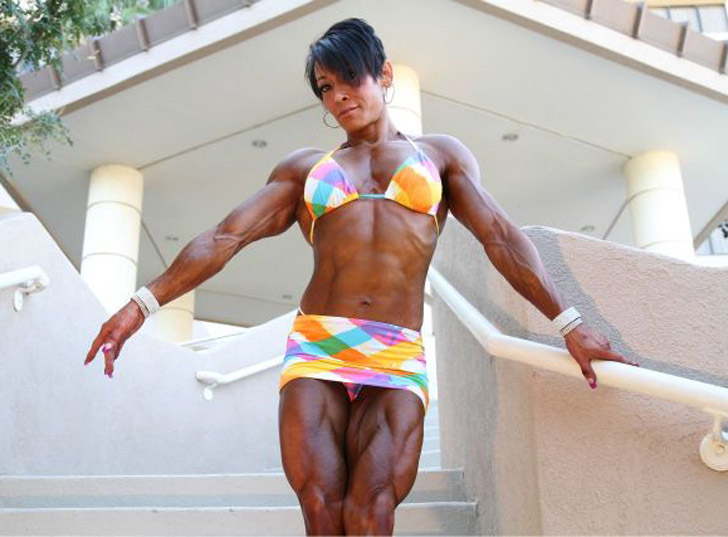 Beni Lopez Modeling Her Shredded Physique