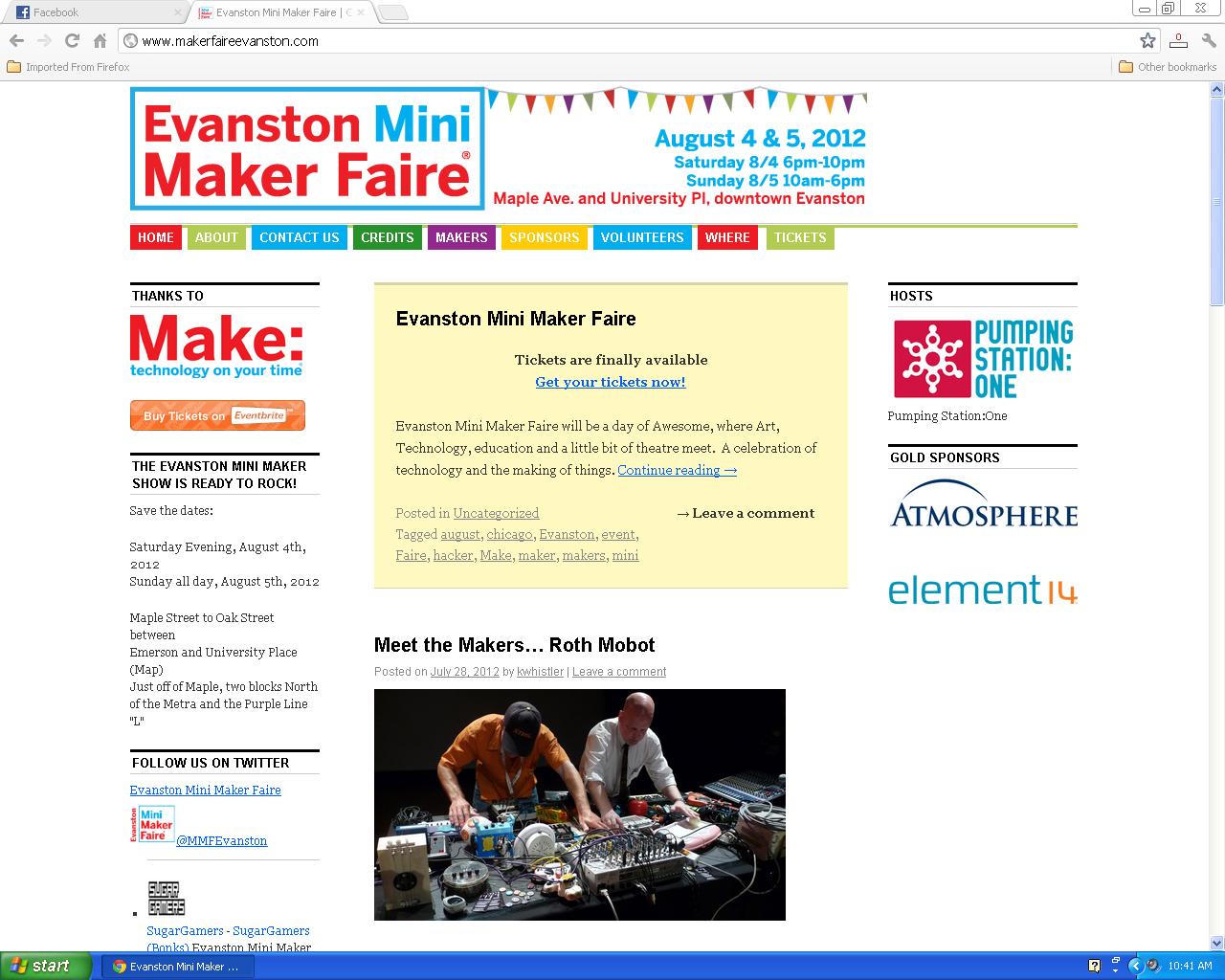 roth mobot at evanston mini maker faire