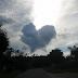 Óriás szív felhő Florida egén