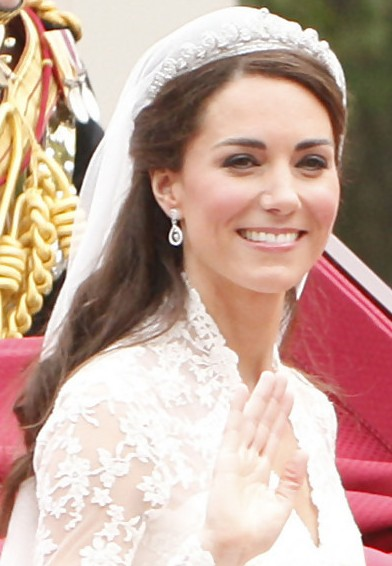 Best Bride Hairstyle - Kate Middleton Wedding Hairstyle