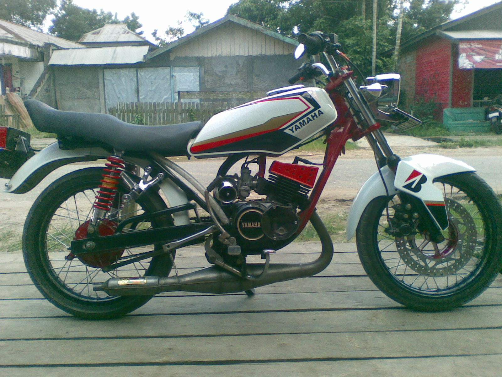 terbaru photo motor rx king modifikasi