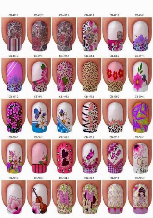 Imagenes de uñas decoradas con lindos diseños modernos de pies y ...