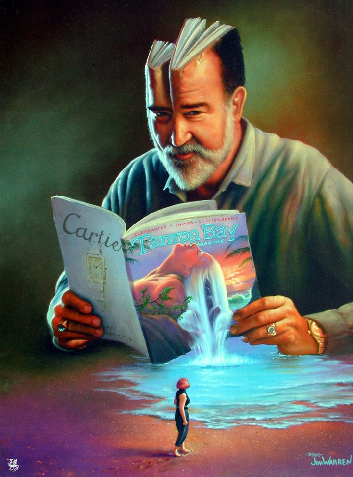 Jim Warren 1949 |  American Fantasy and Surrealist painter