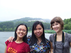 Ili, Me and Isabella at West Lake, Hangzhou