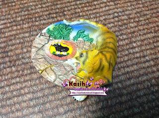 Fridge Magnet,Zoo Taiping,Koleksi,Kasih,Lestari,Abadi