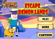Adventure Time Escape Demon Lands