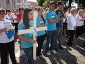 Via-Sacra com Jovens