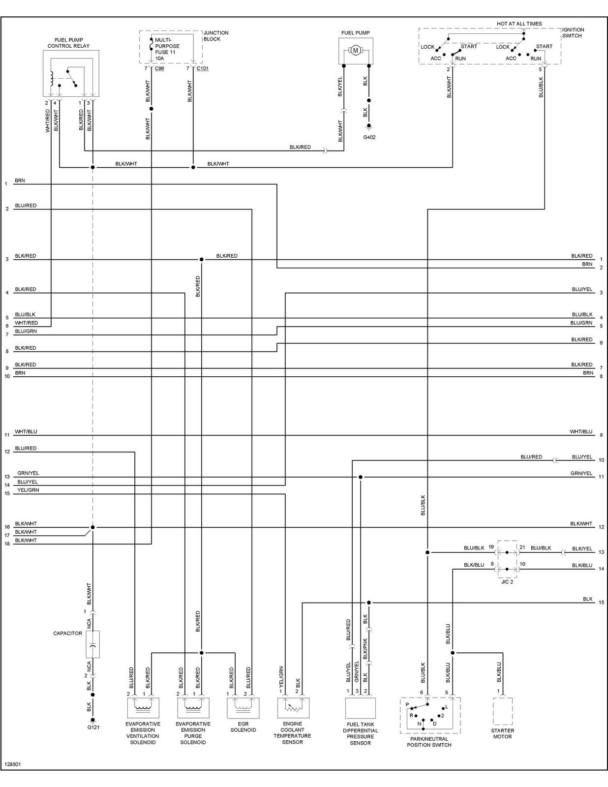 DDMP Automotriz: Mitsubishi Montero 2000 Diagrama ECU