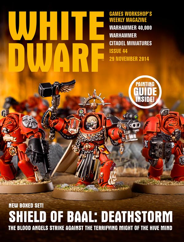 White Dwarf Weekly número 44 de Noviembre
