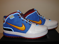 Nike Zoom LeBron VI - Superman Colour Scheme