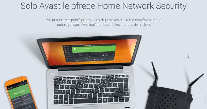 Avast Pro Antivirus 2015 seguridad redes