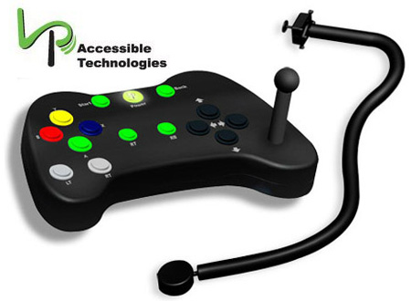 LP Accessible Technologies Accessible Controller for Xbox 360.