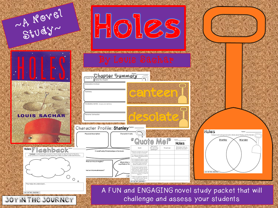 a summary of the story of holes by louis sachar Holes, which tells their story based on the much-honored young adult's novel by louis sachar, it has been given the top-shelf treatment.