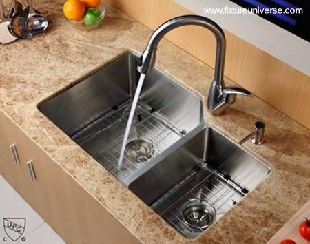 Arquitectura de casas instalaci n de fregaderos - Medidas fregaderos cocina ...