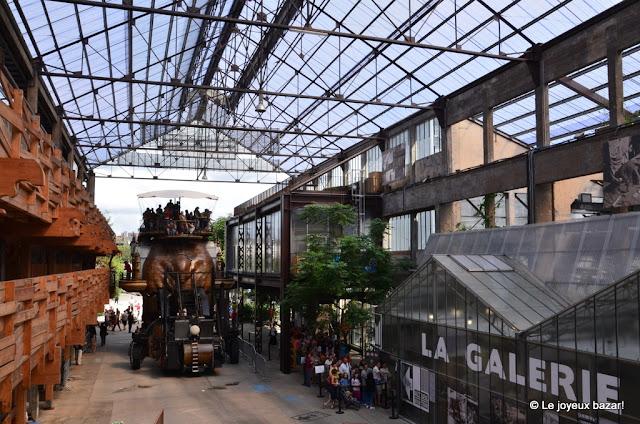 le voyage à Nantes - la galerie des machines