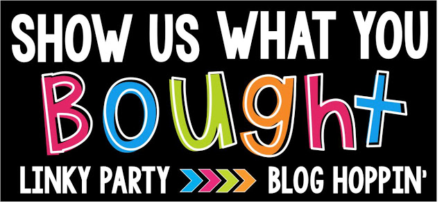 Show Us What You Bought {Linky Party}
