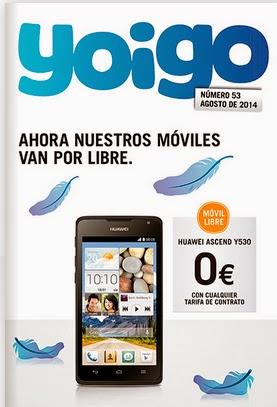 Catálogo YOIGO - AGOSTO 2014