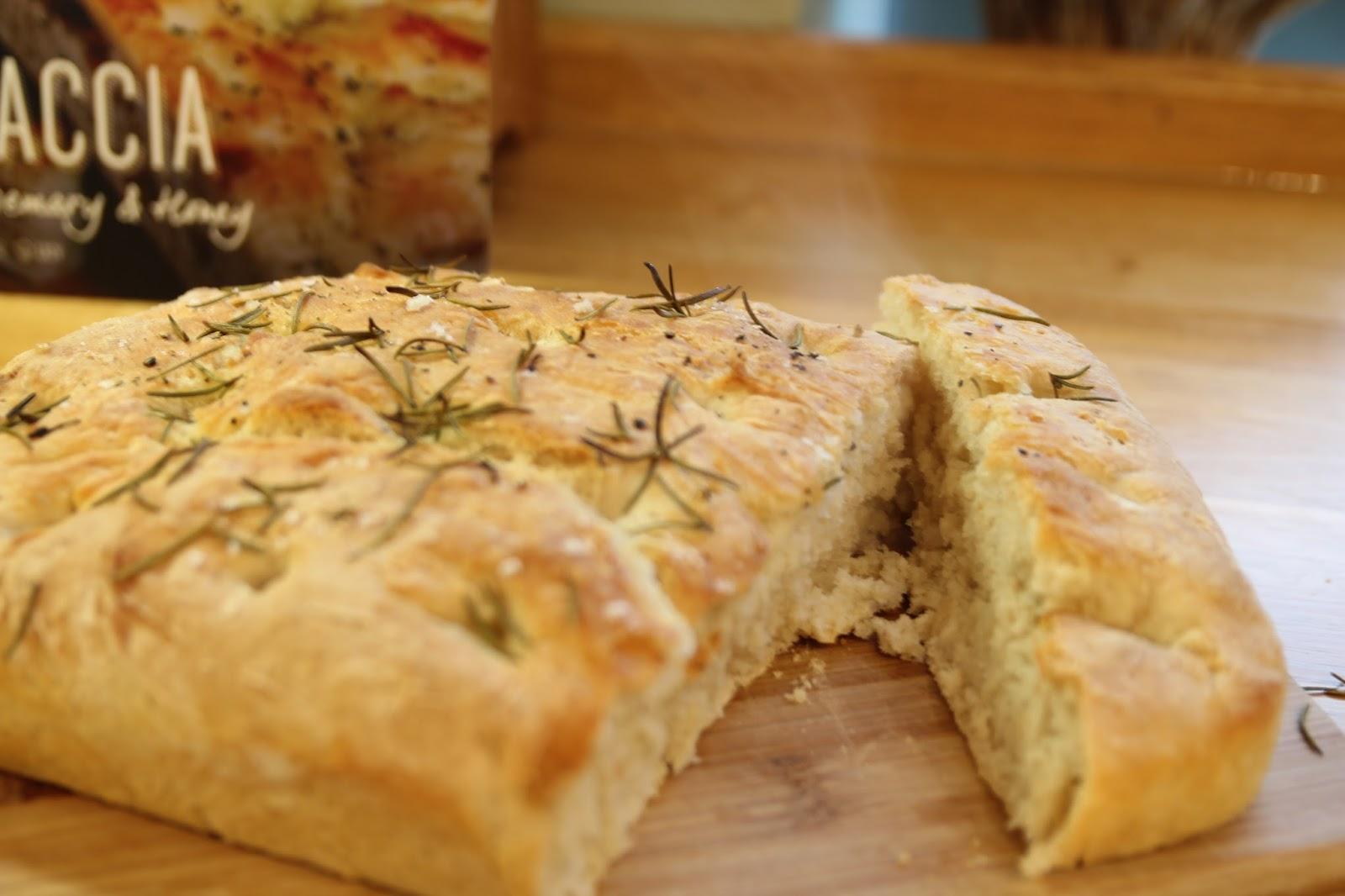 Baking Focaccia
