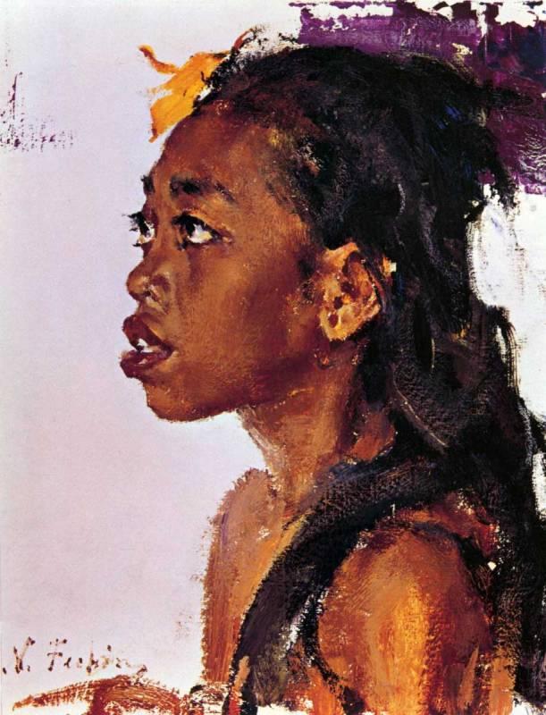 Nicolai Fechin 1881-1955 | Russian/american impressionist painter