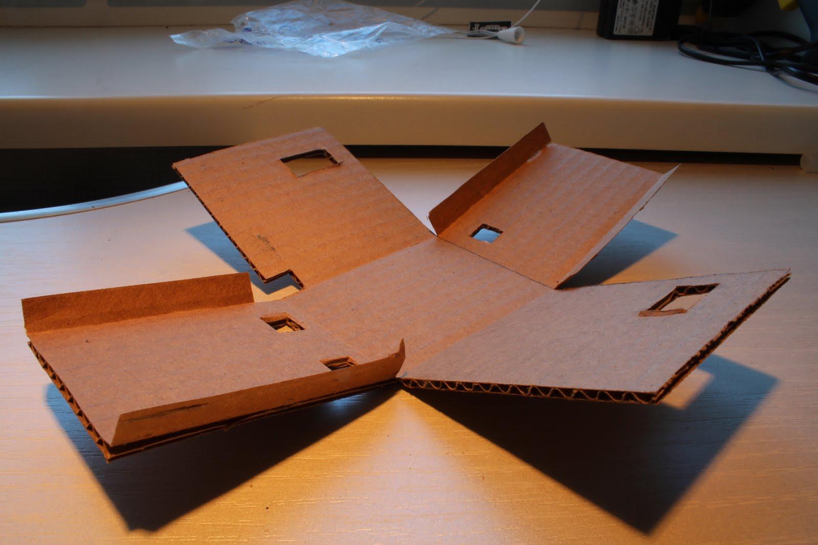 Как сделать из картона домашних условиях