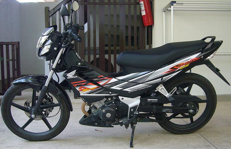 Motorcycle Review U0026 39 S  Honda Sonic 125 Cc