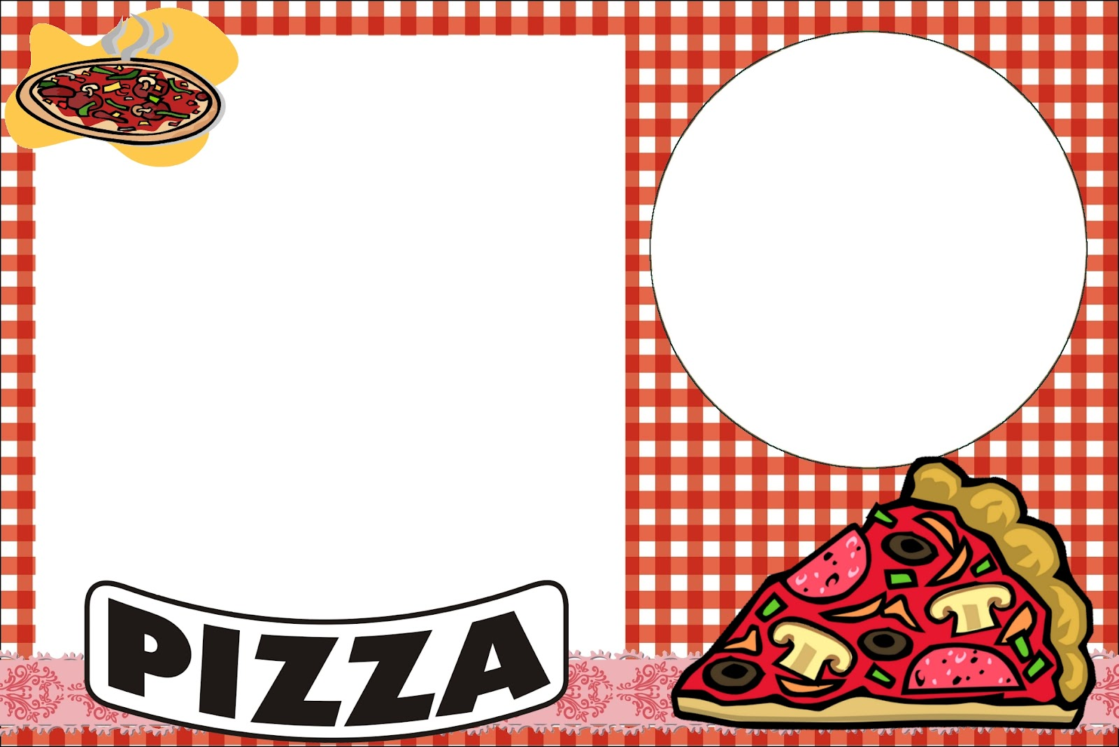 Pizza Party Free Printable Invitations – Pizza Party Invitation Template