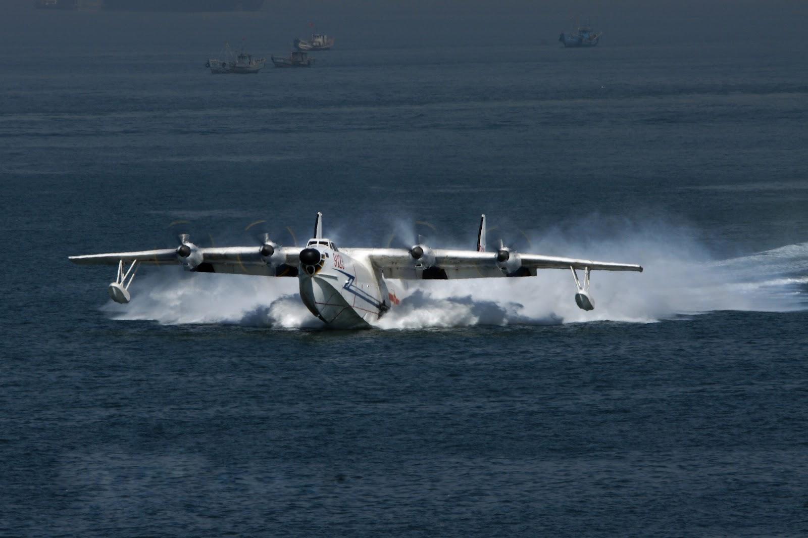 Chinese SH-5 Maritime Patrol Aircraft/ Amphibious Aircraft ...