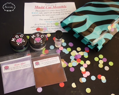 Madd Style Cosmetics MSC Subscription Box