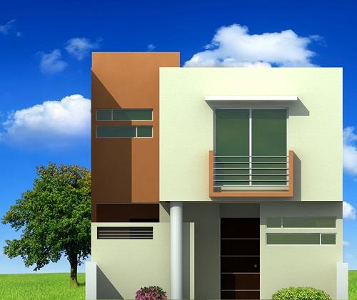 Fachadas de casas modernas fachada de casa moderna modelo for Buscar casas modernas