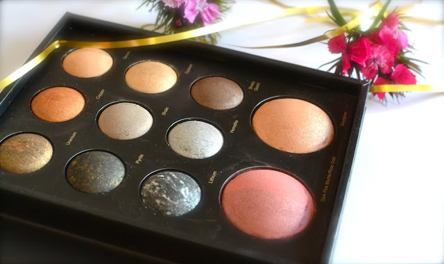 Sephora Mixed Metals baked eye and face palette review