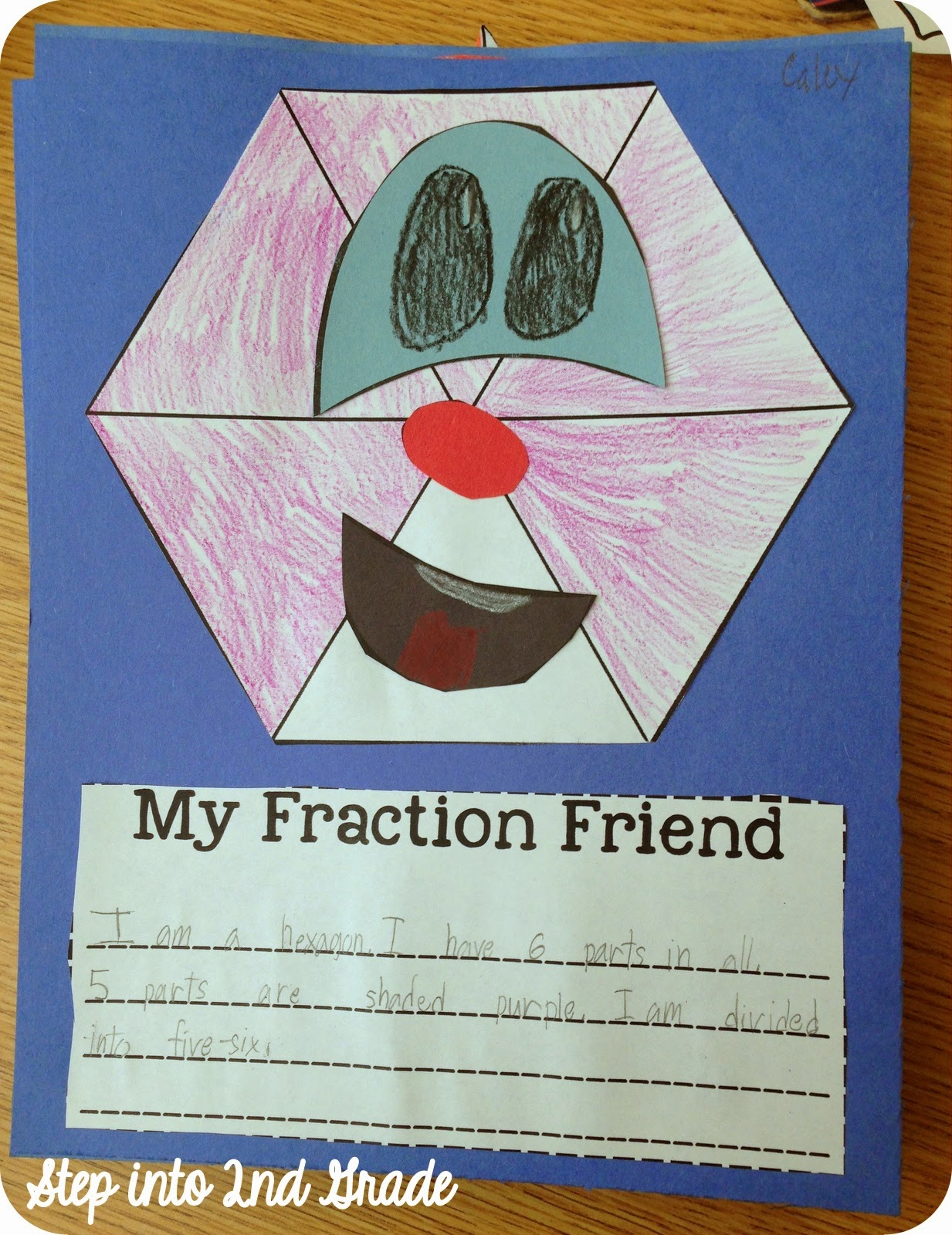 Step into 2nd Grade with Mrs. Lemons: Fraction Overload!