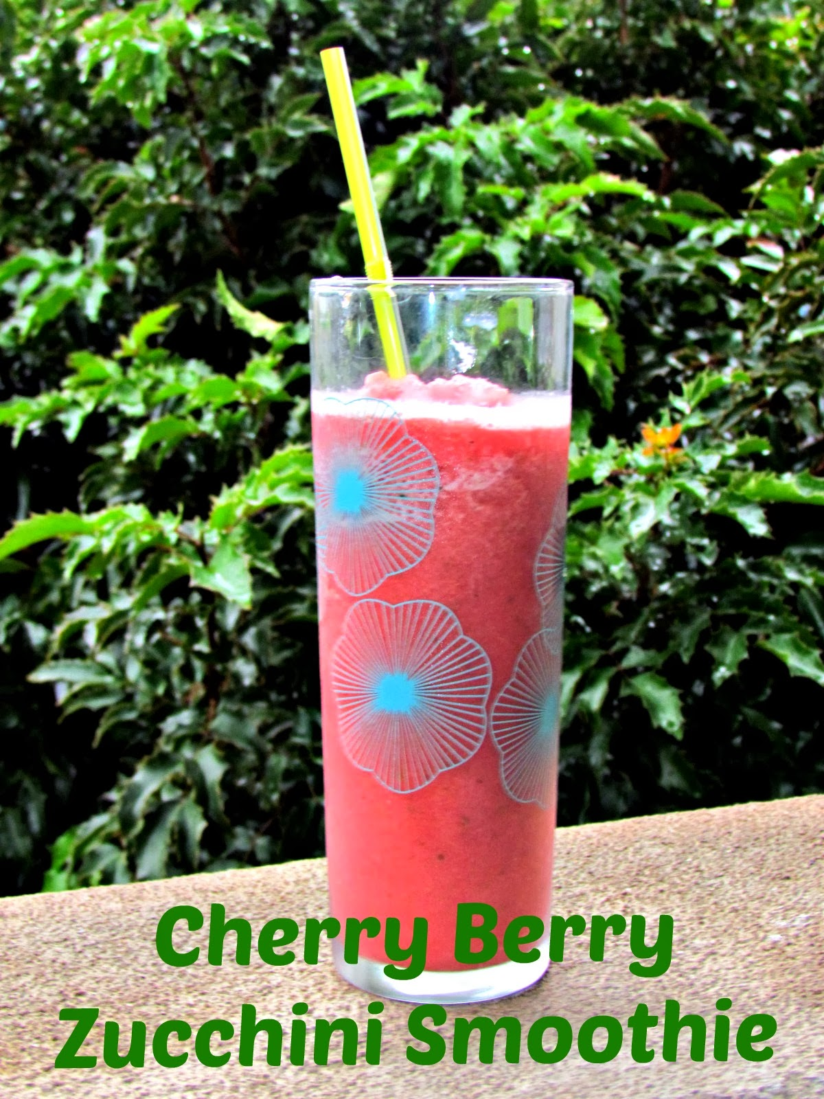 Cherry Berry Zucchini Smoothie #V8Refreshers | Home Maid ...