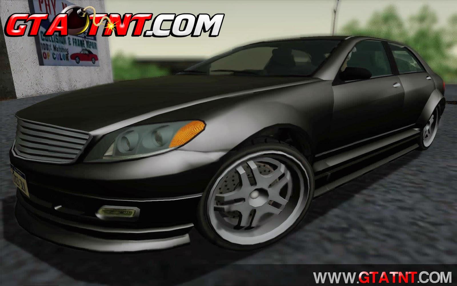 Schafter Bumper Convertido do GTA V para GTA San Andreas